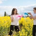 Séance engagement poudre Holi – Maria & Matthieu