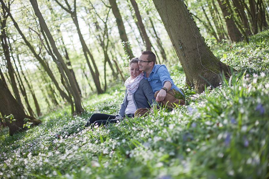 Séance engagement dans les bois – Raphaëlle & Mathieu
