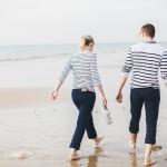 Séance engagement à la plage – Charlotte & Sébastien