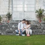 Séance engagement champêtre : Virginie & Laurent