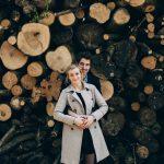 Séance engagement dans les bois avec Marion et Rémi