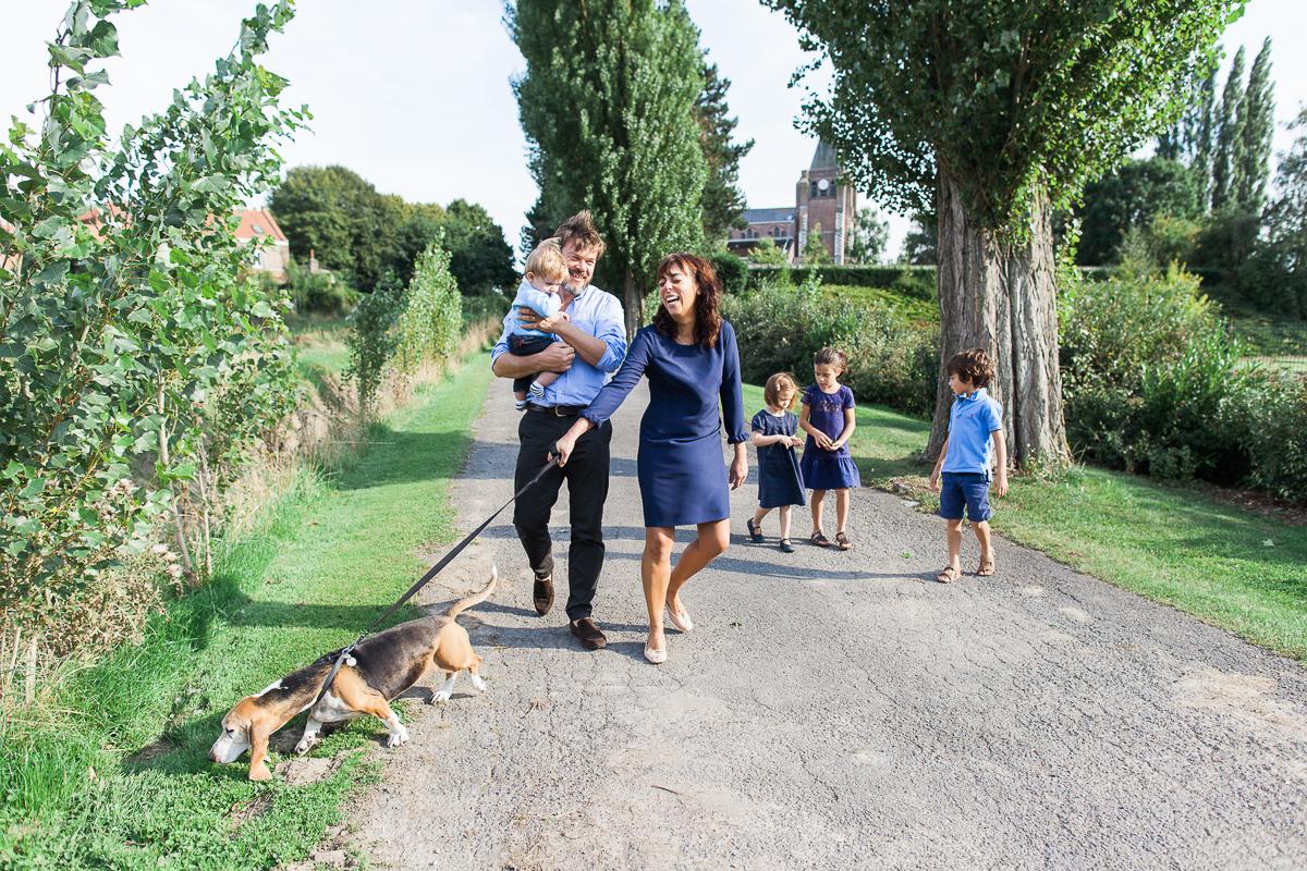 Séance en famille sur Lille – Ballade champêtre