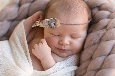Séance photo bébé avec Sathiya