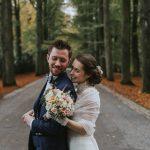 Un mariage en automne au château du Biez